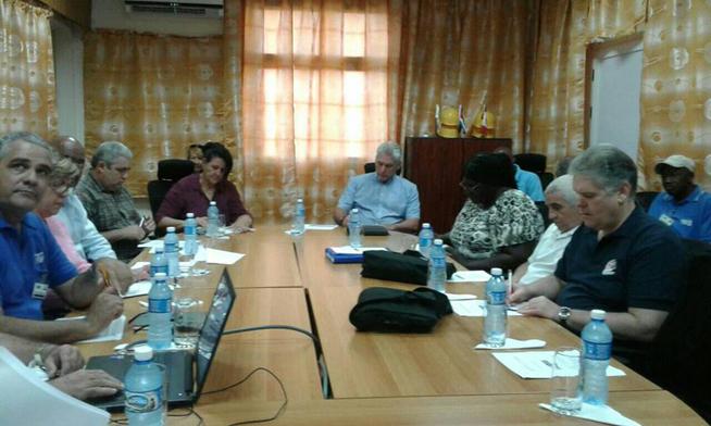 Díaz-Canel realiza visita gubernamental a Matanzas