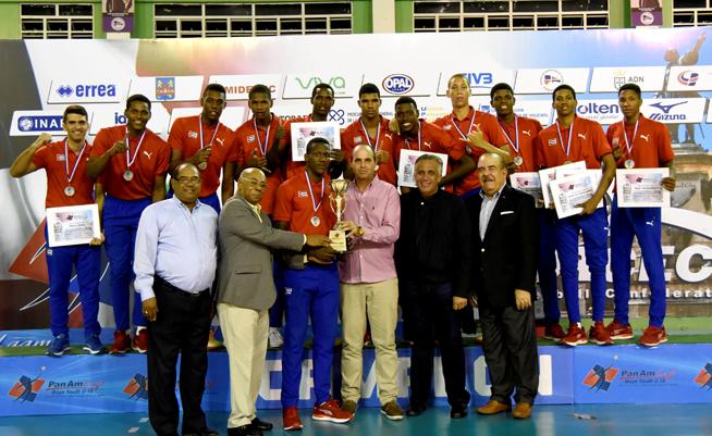 Oro para Cuba en copa panamericana sub 19 de voleibol (m)