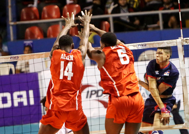 Cuba beat the Dominican Republic in Men´s U21 Pan Am Volleyball Cup