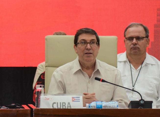 Le Chancelier affirme que Cuba poursuivra son développement malgré le blocus étasunien
