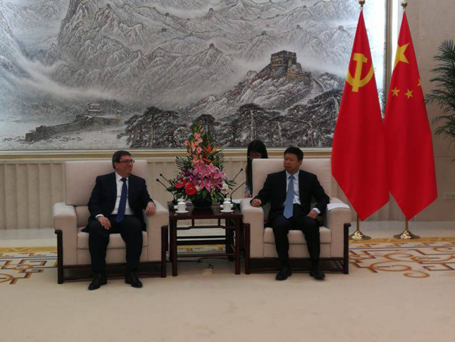 Foreign Ministers of Cuba and China meet in Beijing