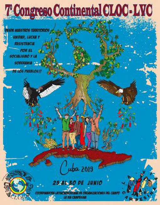 Acogerá Cuba cita internacional de movimientos campesinos a favor de proyectos socialistas