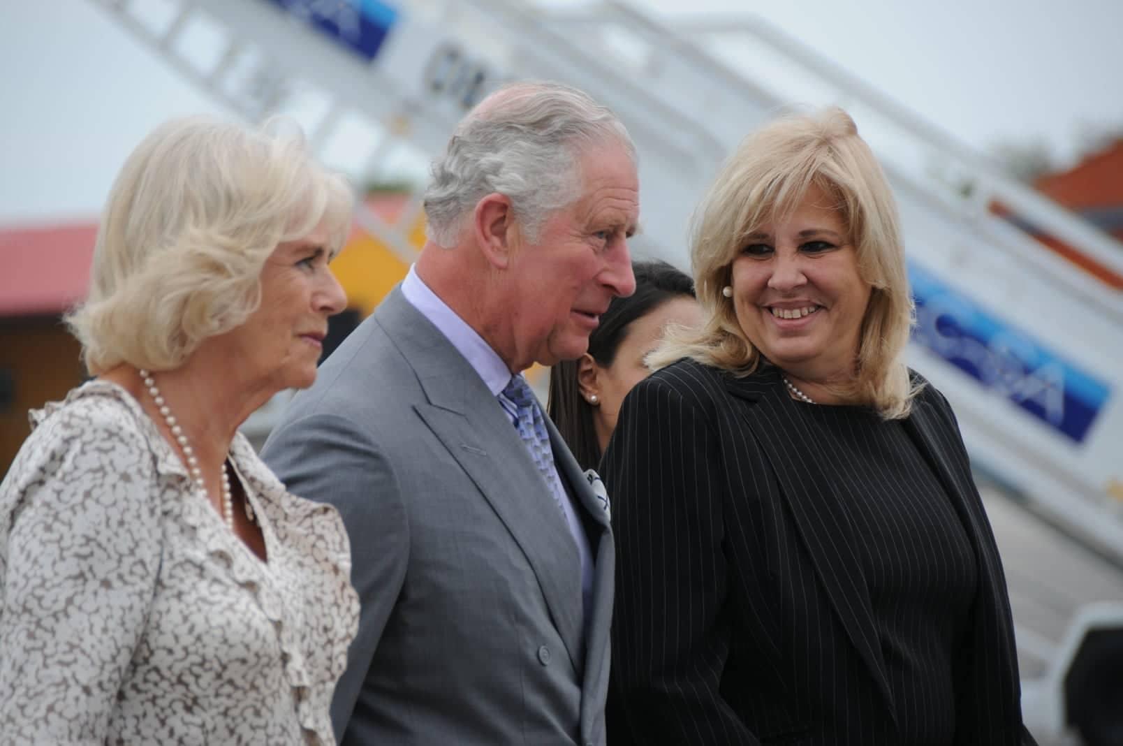 Le prince de Galles et la Duchesse de Cornouailles sont arrivés à La Havane