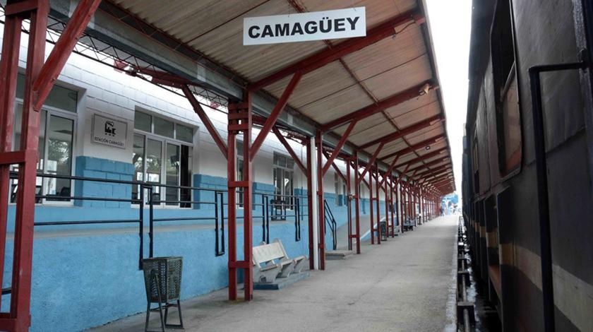 Se cumplen medidas higiénico-sanitarias en transportación por ferrocarril en Camagüey