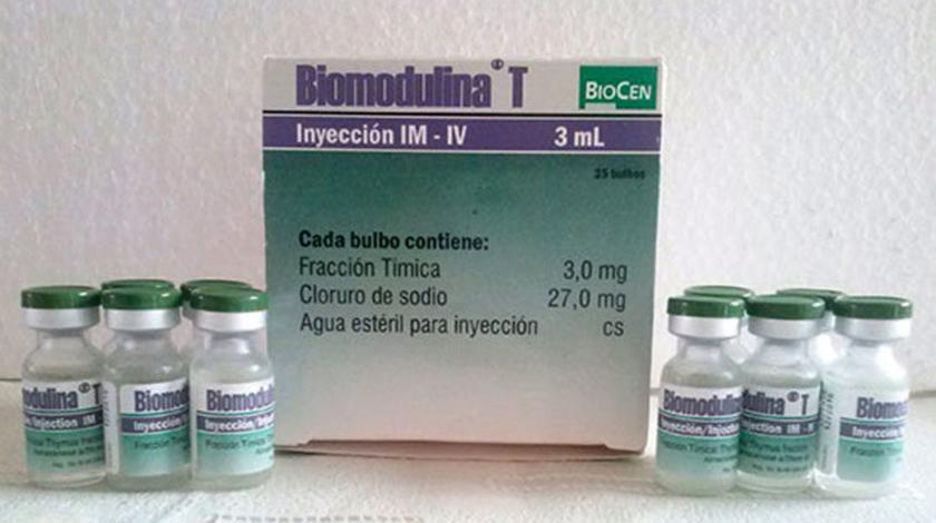 Más de cinco mil adultos mayores beneficiados en Cuba con la Biomodulina T