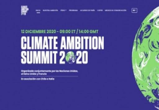 Participará Presidente cubano en Cumbre de Ambición Climática