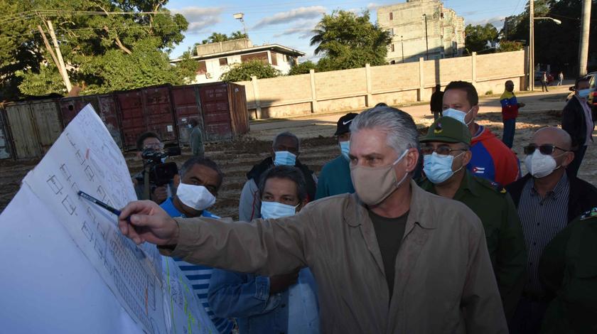 Díaz-Canel encabeza visita gubernamental a La Habana
