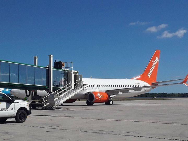 Aerolínea Sunwing de Canadá reinició operaciones en Cuba