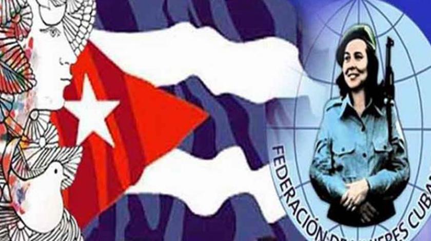 Díaz-Canel felicita a las cubanas en el Aniversario 60 de la FMC