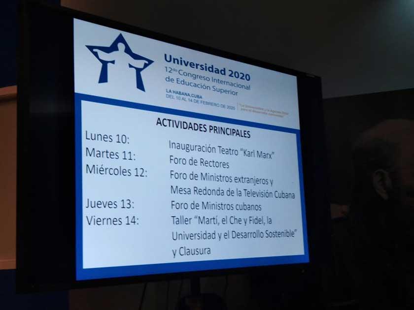Cuban University 2020 Congress will treat on healthy aging