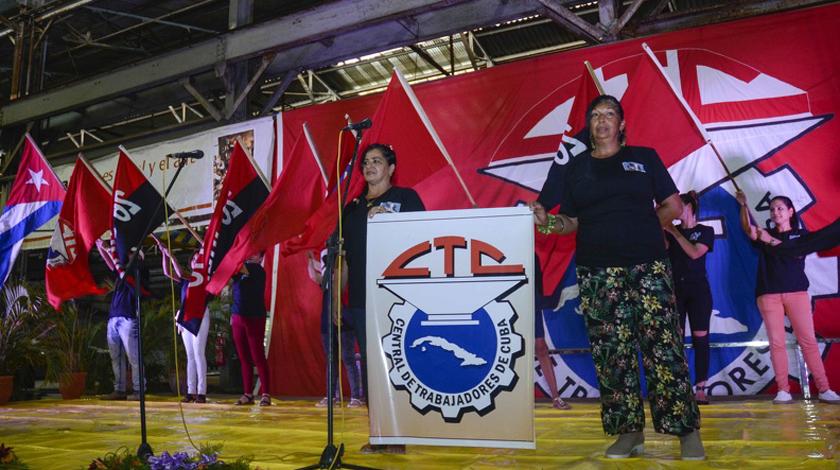 Cumple 81 años de fundada la Central de Trabajadores de Cuba