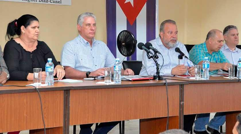 Presidente de Cuba realiza amplia visita gubernamental a Artemisa