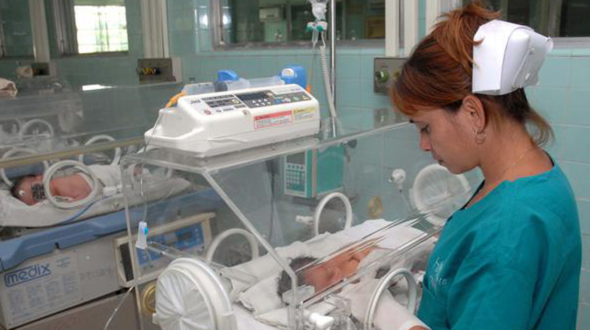 Servicio de Neonatología de Hospital Ginecobstétrico en Camagüey entre los mejores de Cuba