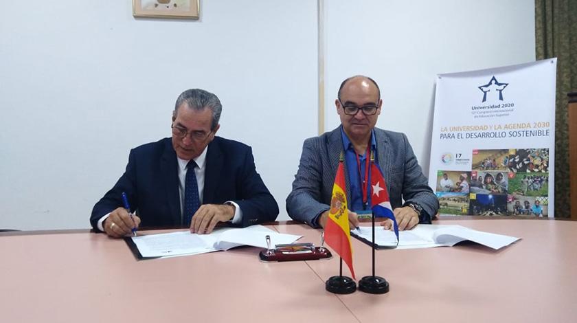 Universidades de Cuba y España avanzan en la internacionalización de la Educación Superior
