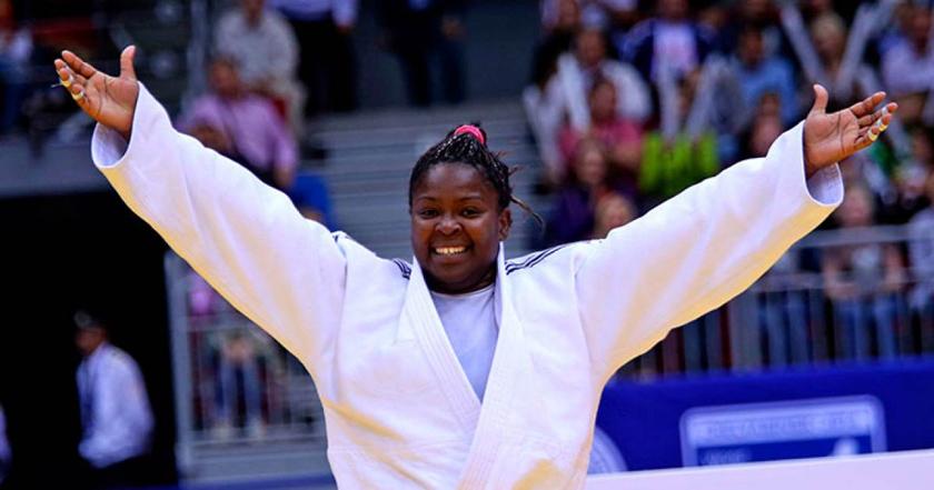 Idalis Ortiz conquistó medalla de bronce en Grand Slam de judo