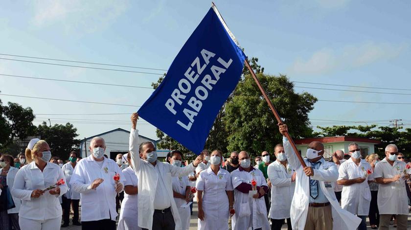 Reconocen a hospitales camagüeyanos destinados a la atención de pacientes con Covid-19 (+ Fotos)