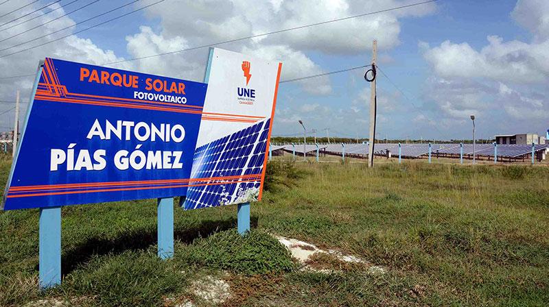 Listo para aportar energía limpia nuevo parque fotovoltaico en Camagüey (+Fotos)