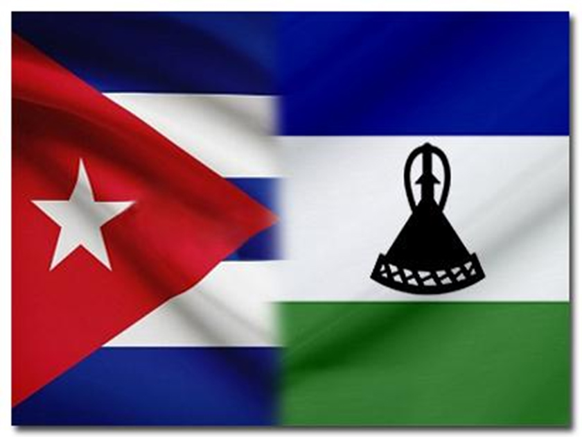 Cuba thanks Lesotho for support against US blockade
