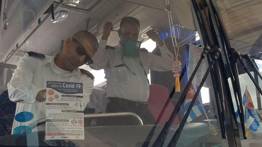 Adoptan en terminales camagüeyanas medidas preventivas contra nuevo coronavirus