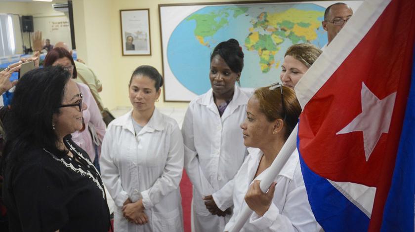 Brigada médica cubana llegará a Granada para combatir el nuevo coronavirus