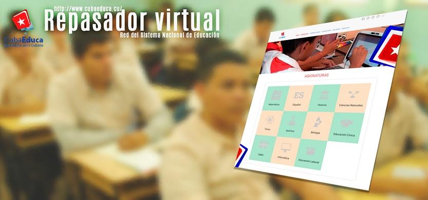 Dispone Cuba de plataforma educativa online ante cierra de escuelas por nuevo coronavirus