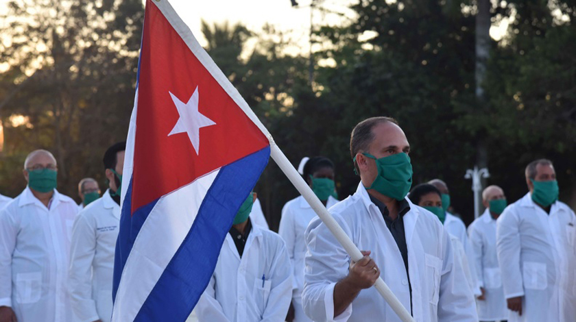 En una semana, Cuba ha enviado brigadas médicas a 14 países