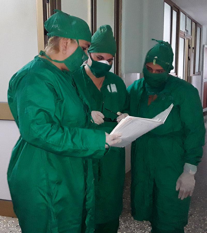 L'hôpital Amalia Simoni de Camagüey accueille plus de 160 patients de Covid-19 confirmés et suspectés