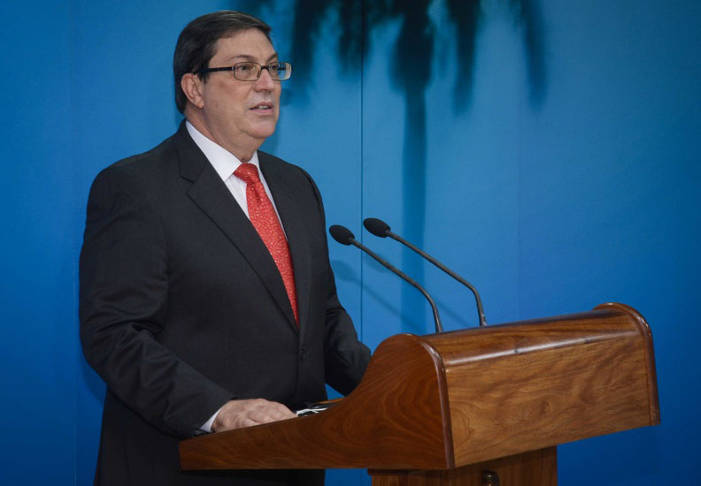 Condena Bruno Rodríguez arremetida de EE.UU. contra solidaridad de Cuba ante pandemia (+ Tuits)