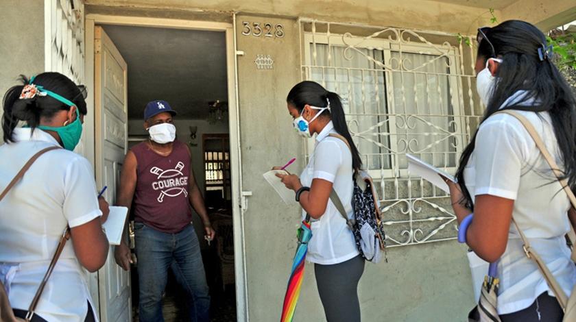 Resaltan participación de jóvenes cubanos en enfrentamiento a la pandemia