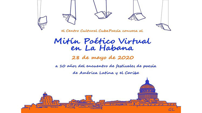 Online Poetic Rally to be held in Cuba