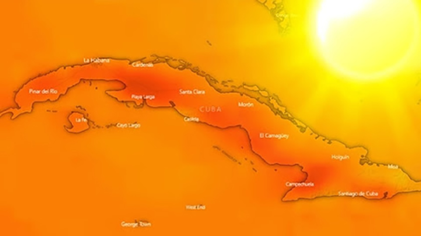 Specialists point to April as a very hot month in Cuba