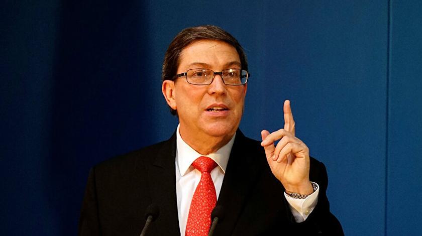 Denunció Canciller cubano que EE.UU. miente y manipula la Historia