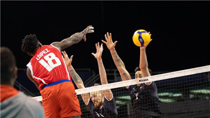 Cuban Miguel Ángel López logs for return to volleyball courts