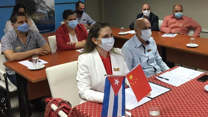 Impulsarán académicos cubanos y chinos estudios vinculados al diagnóstico de enfermedades neurodegenerativas (+ Fotos)