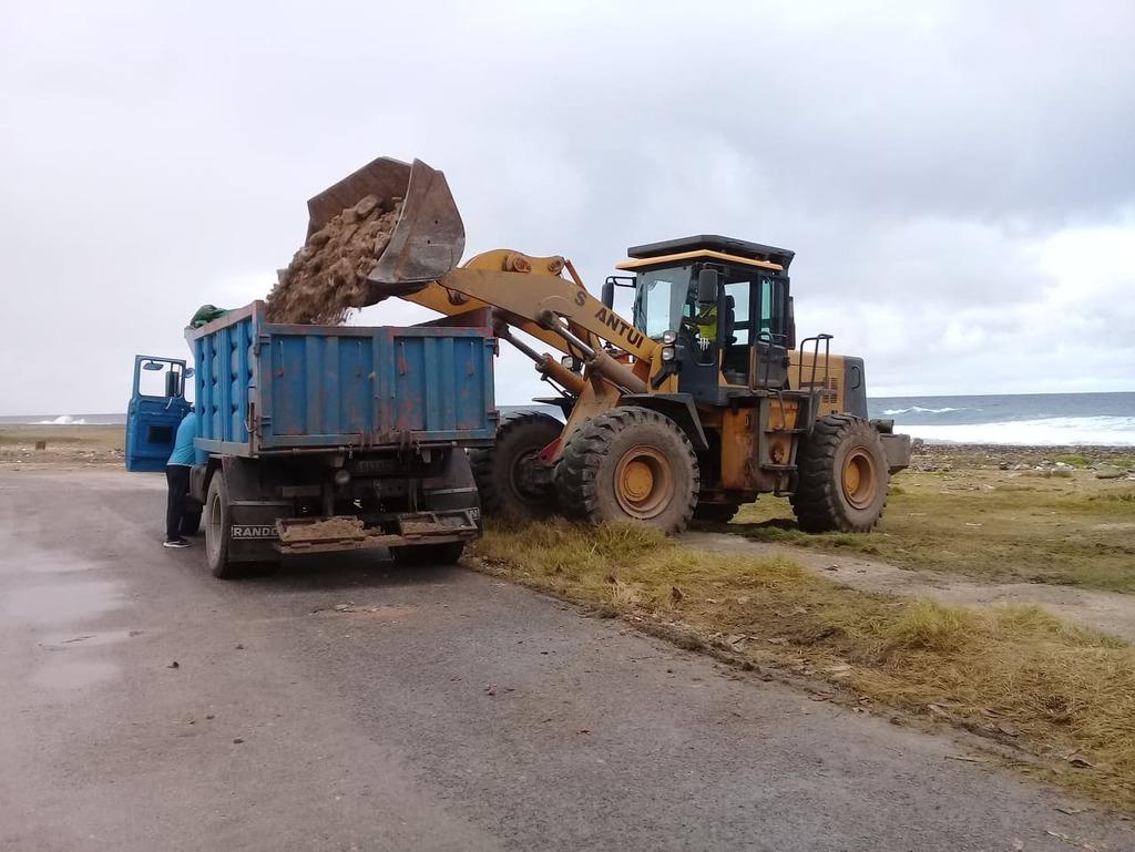 Garantizan limpieza del litoral costero en La Habana del Este