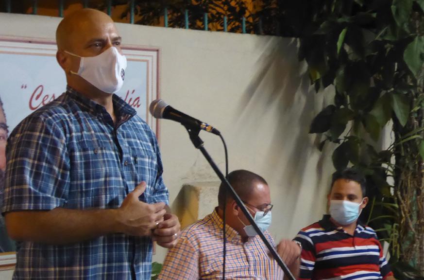 Gerardo Hernández subraya importancia de mayor activismo en los CDR