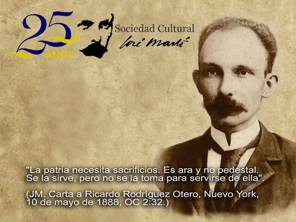 Realizarán foro online por aniversario 25 de la Sociedad Cultural José Martí (+ Foto)