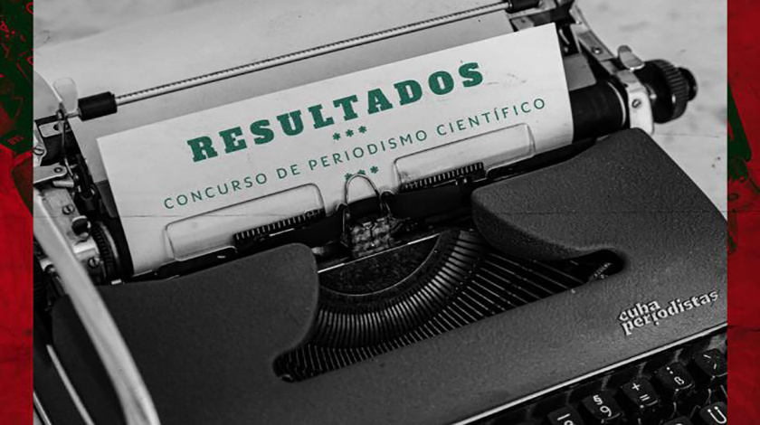 Entregan premios del Concurso de Periodismo Científico Gilberto Caballero in Memorian