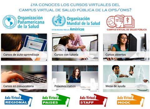 OPS ofrece, gratuitamente, cursos virtuales y seminarios web sobre la Covid-19