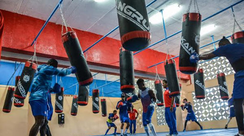 Cuban boxers continue their preparation for Tokyo in Camagüey