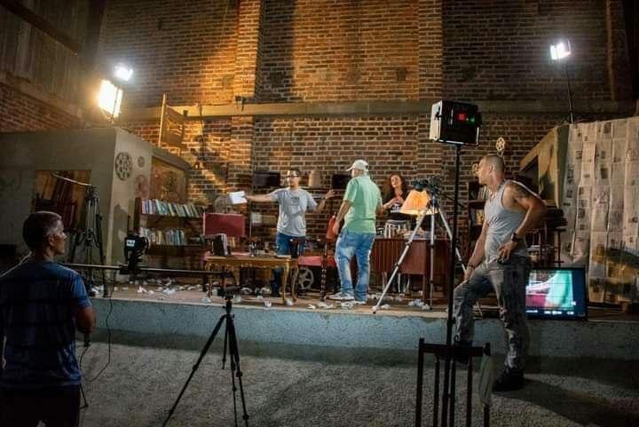 Filman en Camagüey programas para la Televisión cubana sobre El Almacén de la Imagen