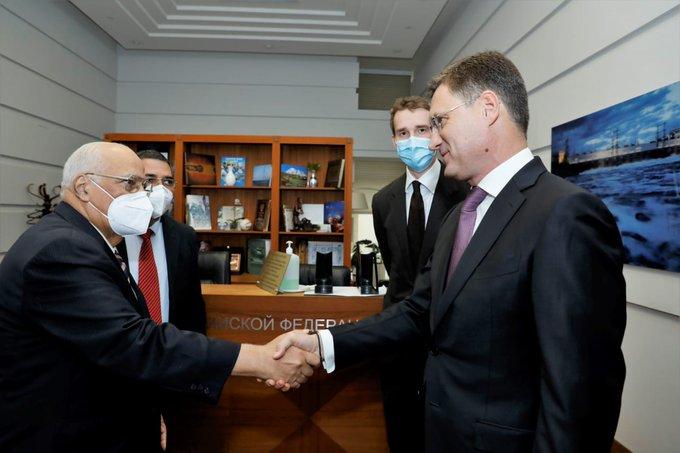 Se reúne Viceprimer Ministro cubano con titulares rusos de Energía y Salud