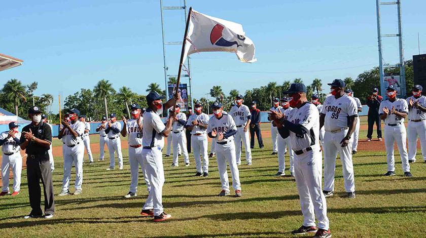 Abanderado el equipo de Camagüey a la 60ª Serie Nacional de Béisbol (+ Fotos y Video)