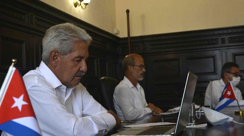 Diputados cubanos participan en conferencia interparlamentaria virtual sobre Covid-19