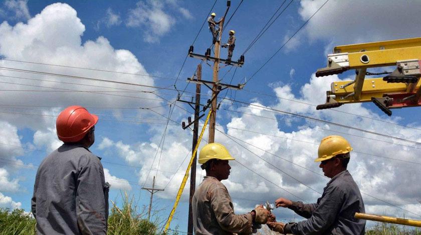 Restablecen en Camagüey mayoría de interrupciones eléctricas tras paso de evento meteorológico