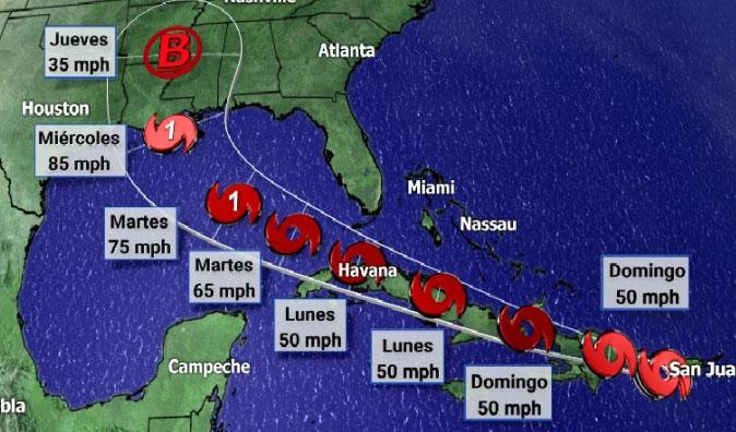 Camagüey en Fase de Alarma por tormenta tropical Laura