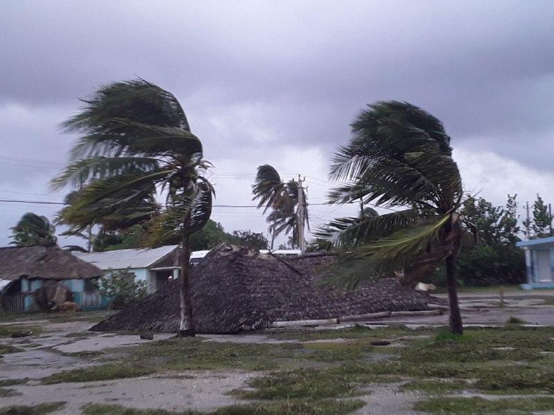 Prácticamente sin afectaciones Santa Cruz del Sur tras el paso de tormenta Laura (+Fotos)
