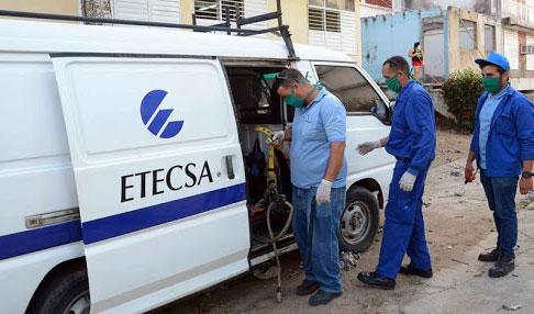 Trabaja  ETECSA  en Camagüey por  solucionar afectaciones provocadas por  Laura