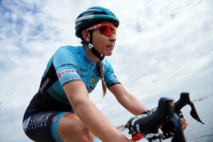Arlenis Sierra, la mejor atleta no europea en el ciclismo de ruta