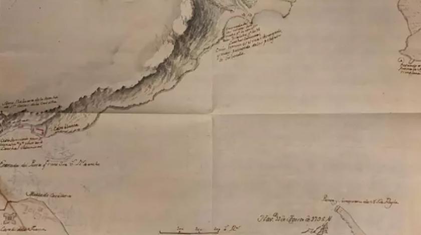Encuentran en España un mapa inédito de la Bahía de La Habana